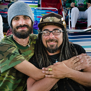 Brotherhood at Bhakti Fest