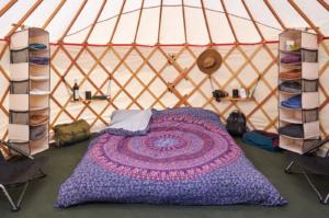 Bhakti Fest, Glamping Yurts